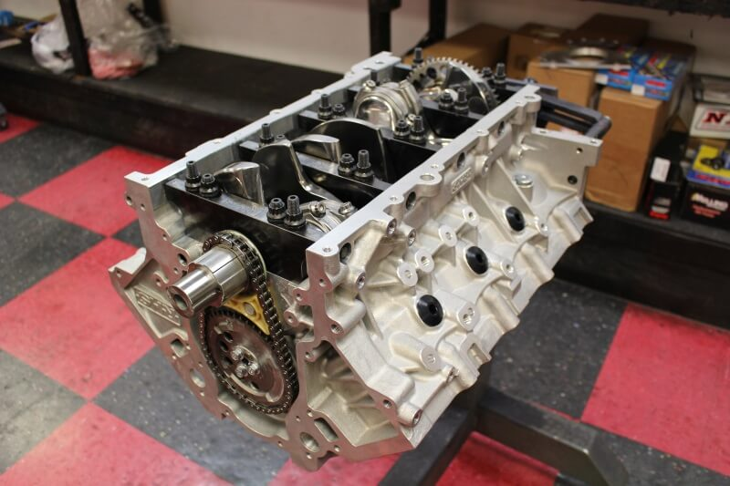 Short block fully assembled