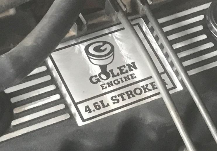 Golen Engine 4.6L Stroke
