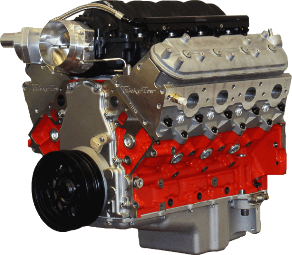 LSx 427ci Boosted Complete Engine